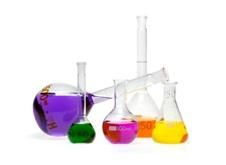Colored vials